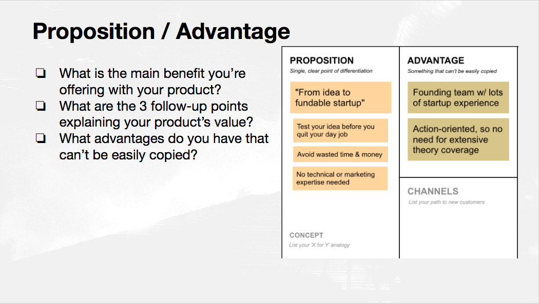 proposition advantage