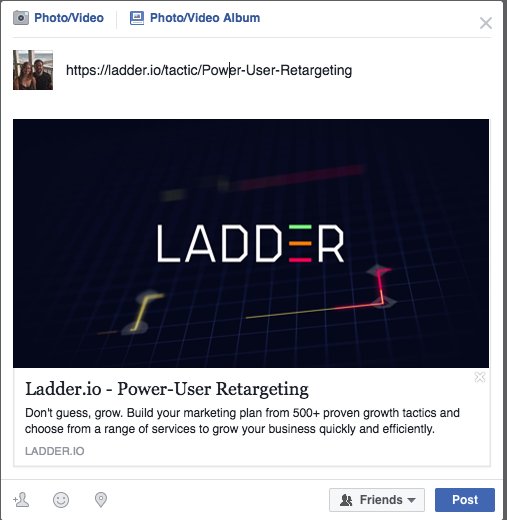 power user retargeting
